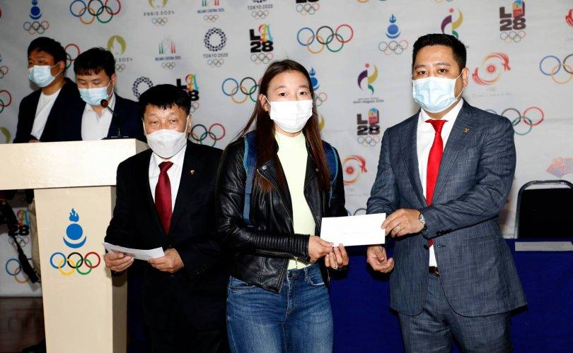 Токио-2020 олимпийн тэтгэлэг олголоо