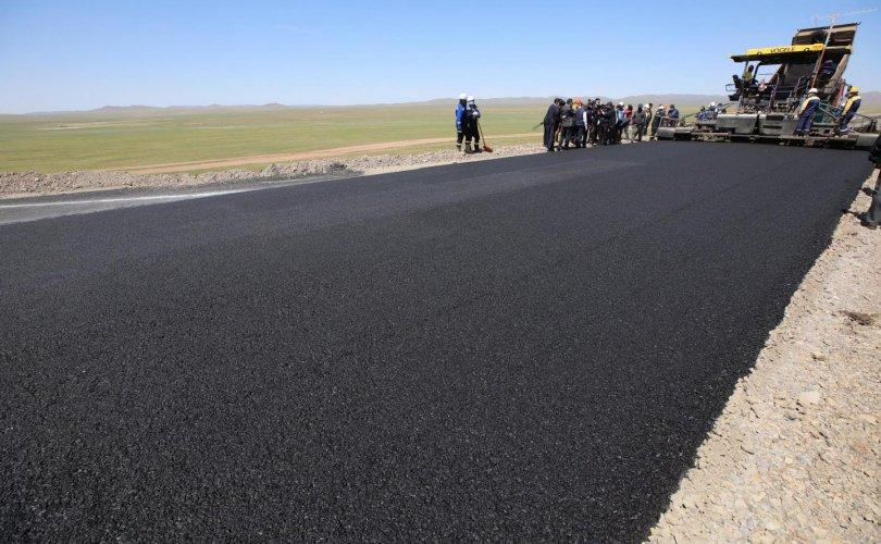 Чингис хот-Бэрх чиглэлийн автозамыг ирэх онд ашиглалтад оруулна