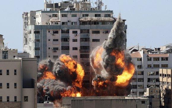 Израиль Газын зурвас дахь мэдээний агентлагуудыг бөмбөгдөв