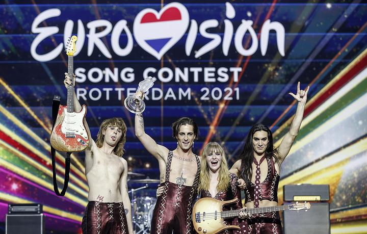"""""""Eurovision"""" наадамд Италийн """"Måneskin"""" хамтлаг түрүүллээ"""