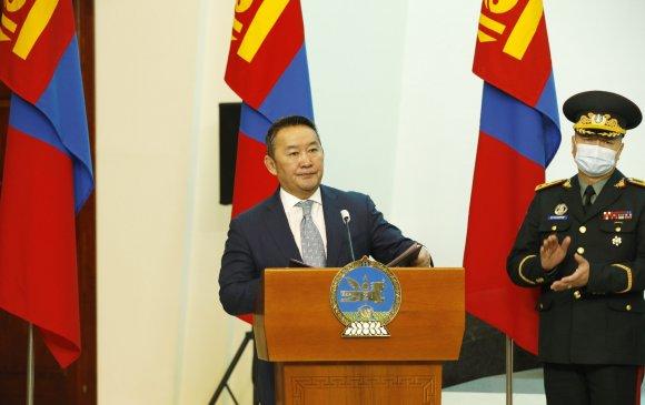 Монгол Улсын Ерөнхийлөгч Х.Баттулга цэргийн дээд цол хүртээлээ
