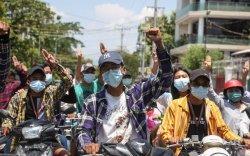 Мьянмарчуудынжагсаал иргэний дайн болж хувирав