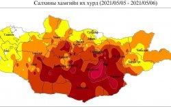 Дорноговь аймагт цаг агаарын гамшигт үзэгдэл үргэлжилж байна