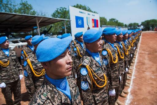 """""""Монголын энхийг сахиулагчдын үнэнч үүрэг НҮБ-ын бахархал юм"""""""