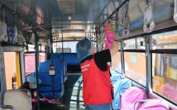 Автобус цэвэрлэх үйлчилгээг гурван байршилд ажиллуулж байна