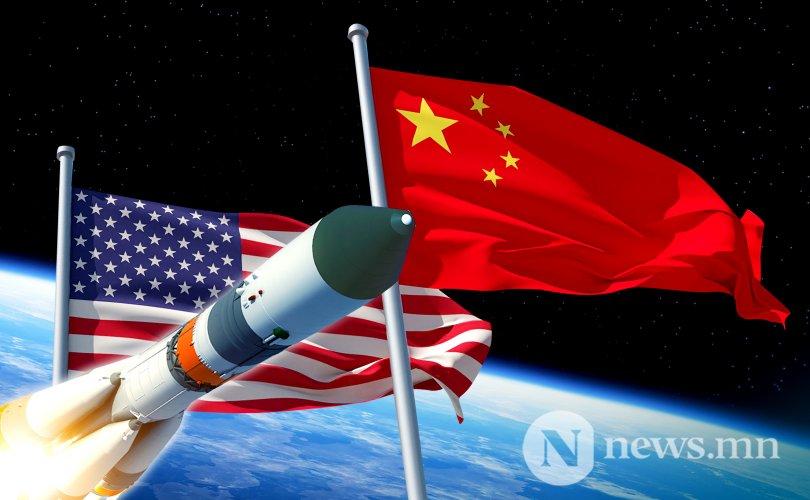 АНУ, Хятадын сансрын өрсөлдөөн ширүүсч байна