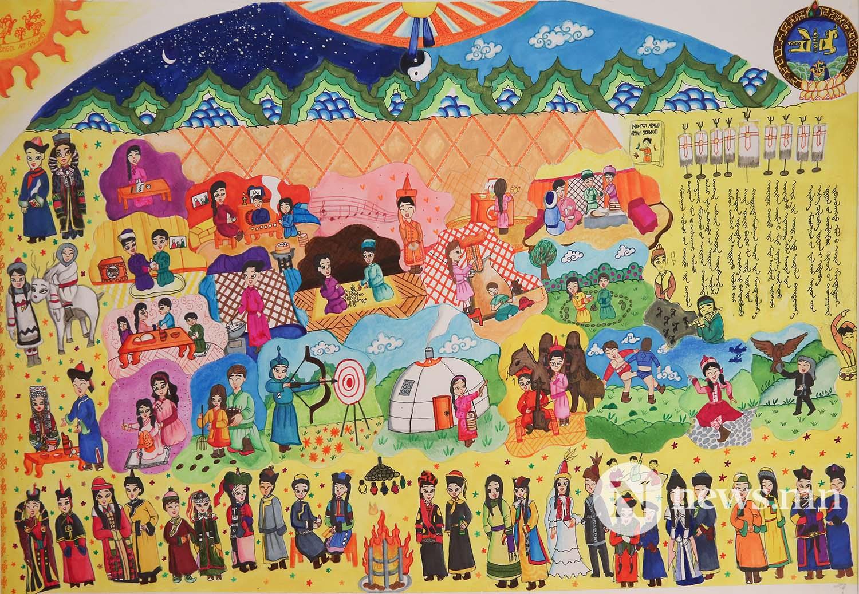 Монгол АРТ галерей Хүүхдийн зургийн уралдаан (11)