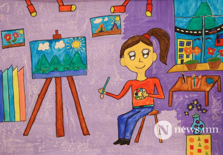 Монгол АРТ галерей Хүүхдийн зургийн уралдаан (12)
