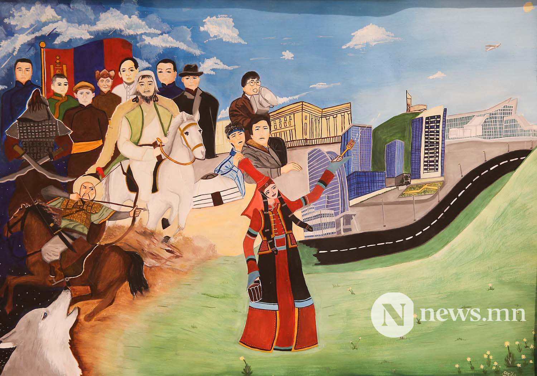 Монгол АРТ галерей Хүүхдийн зургийн уралдаан (13)