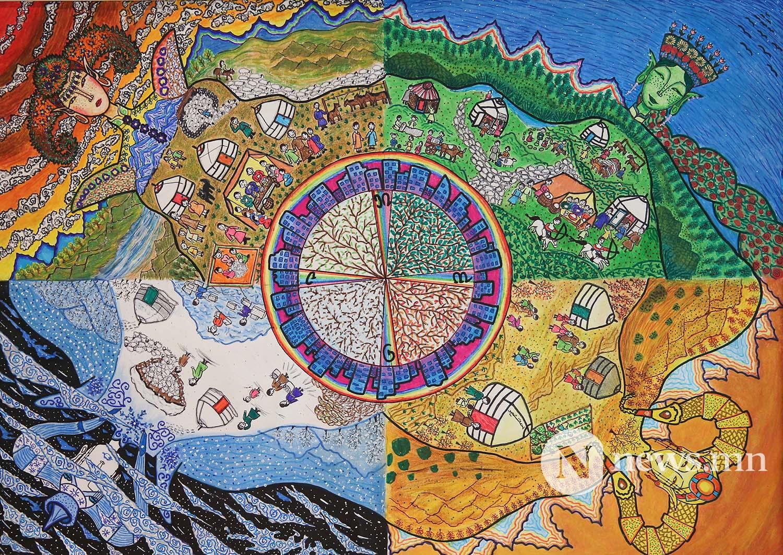 Монгол АРТ галерей Хүүхдийн зургийн уралдаан (16)