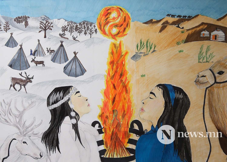 Монгол АРТ галерей Хүүхдийн зургийн уралдаан (23)