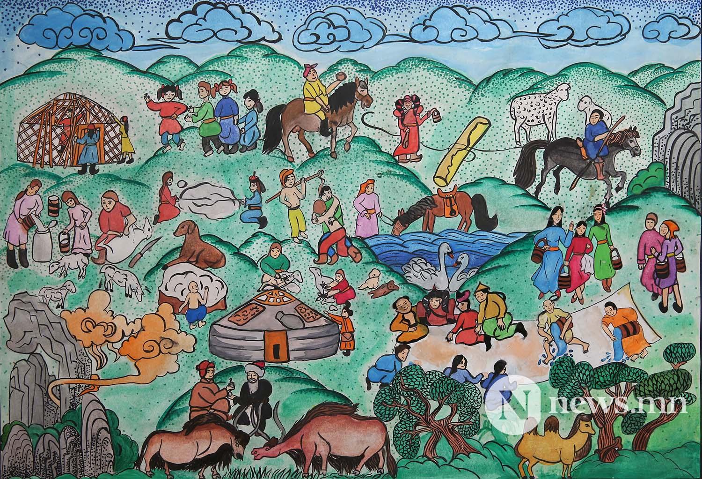 Монгол АРТ галерей Хүүхдийн зургийн уралдаан (24)