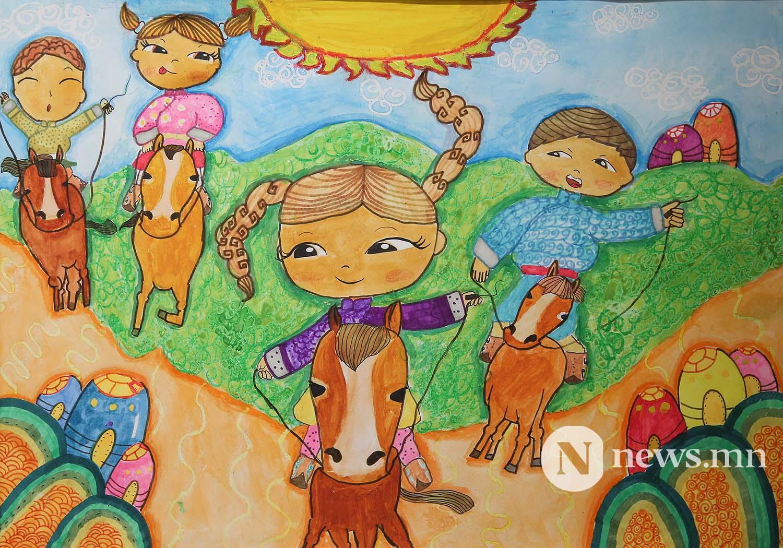 Монгол АРТ галерей Хүүхдийн зургийн уралдаан (25)