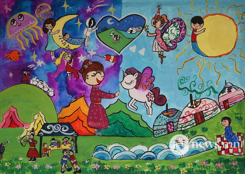 Монгол АРТ галерей Хүүхдийн зургийн уралдаан (32)