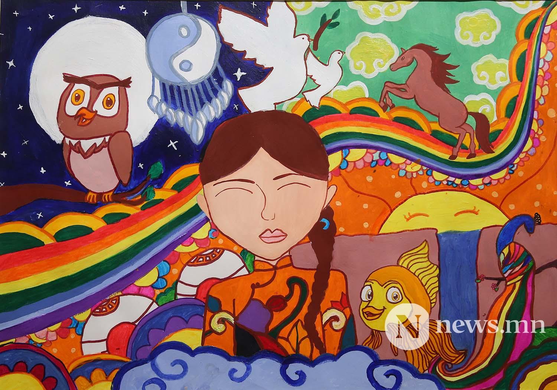 Монгол АРТ галерей Хүүхдийн зургийн уралдаан (35)