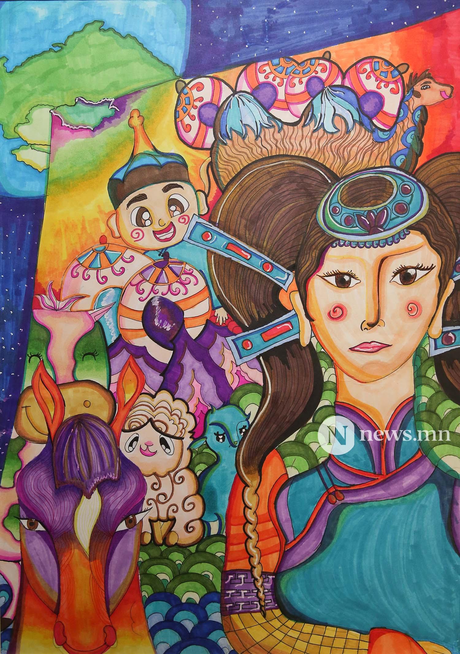 Монгол АРТ галерей Хүүхдийн зургийн уралдаан (36)