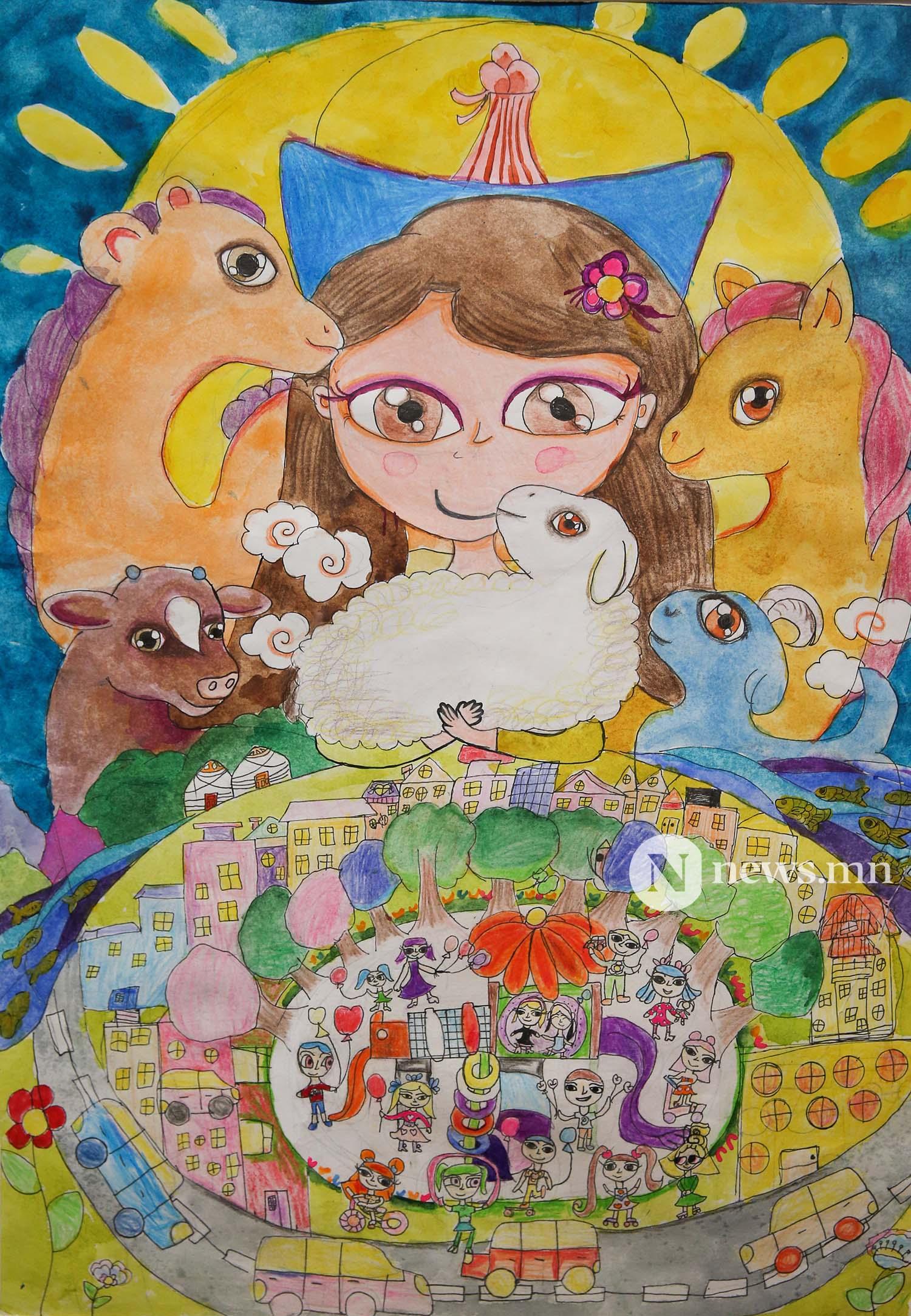 Монгол АРТ галерей Хүүхдийн зургийн уралдаан (38)