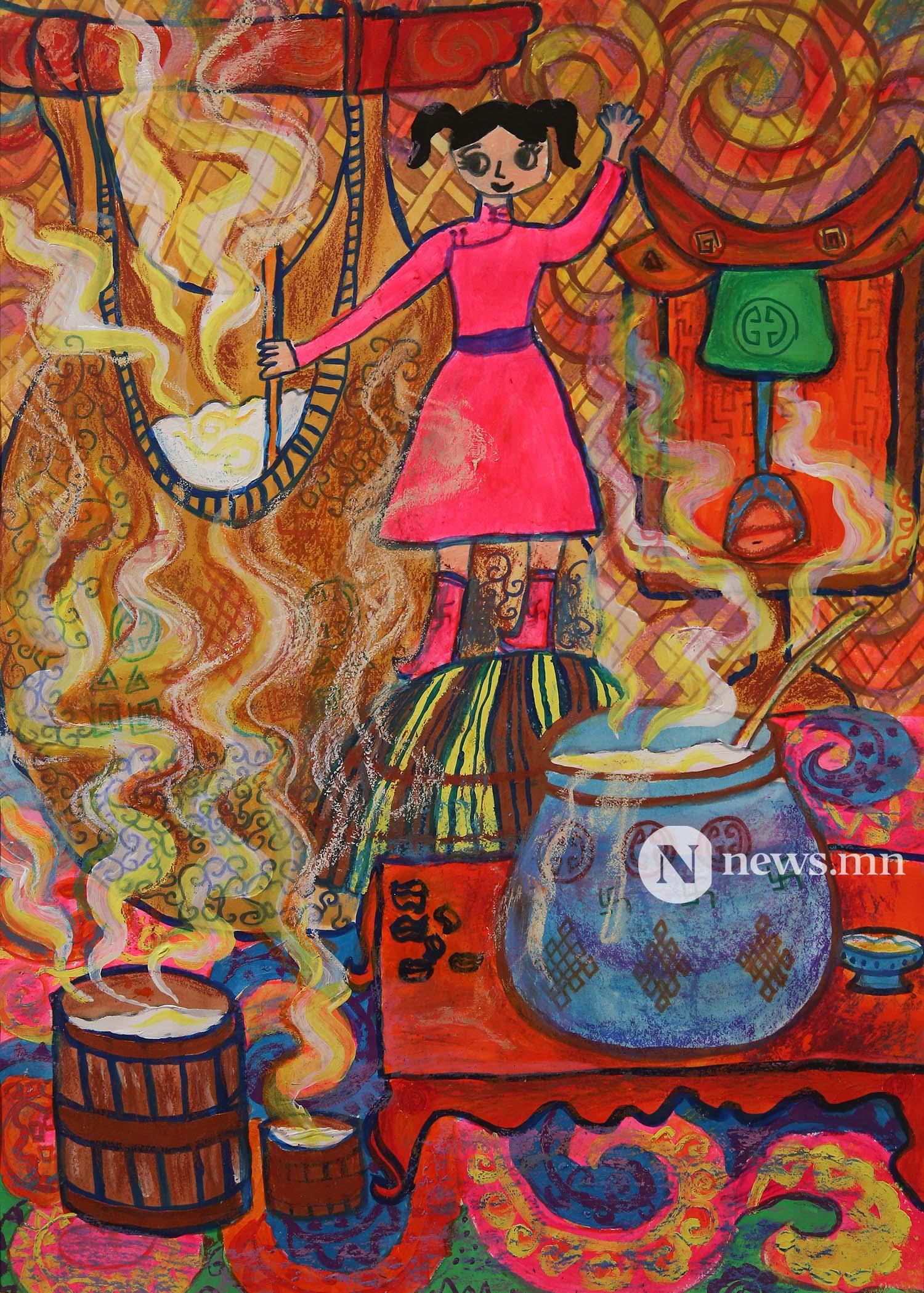 Монгол АРТ галерей Хүүхдийн зургийн уралдаан (41)