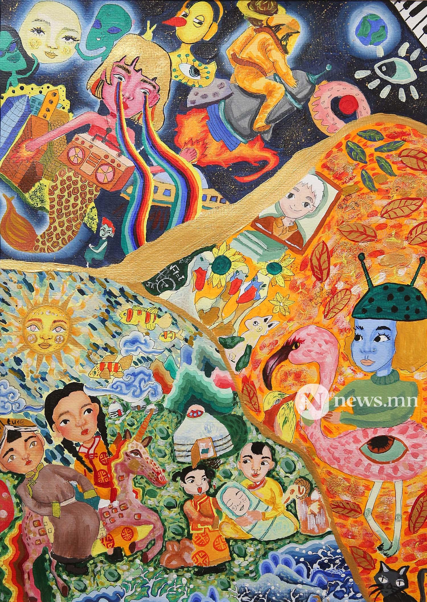 Монгол АРТ галерей Хүүхдийн зургийн уралдаан (42)