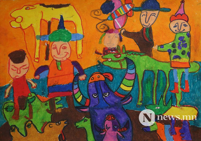 Монгол АРТ галерей Хүүхдийн зургийн уралдаан (44)