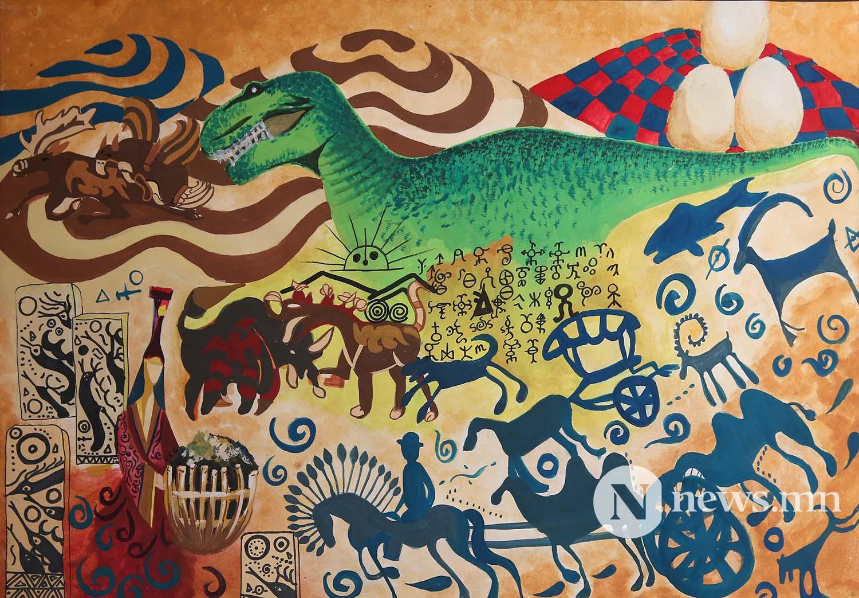 Монгол АРТ галерей Хүүхдийн зургийн уралдаан (48)