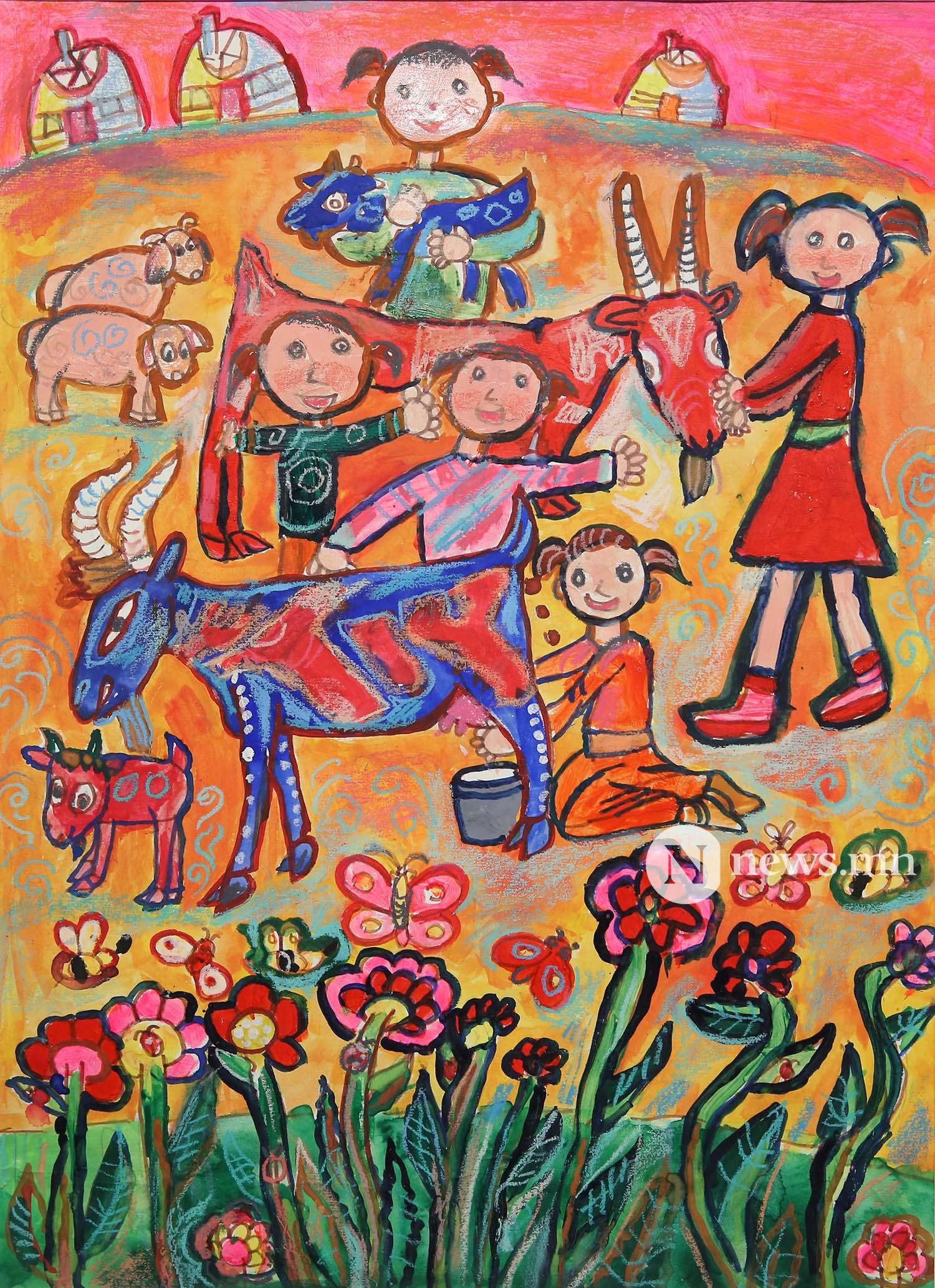 Монгол АРТ галерей Хүүхдийн зургийн уралдаан (49)