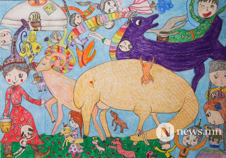 Монгол АРТ галерей Хүүхдийн зургийн уралдаан (52)