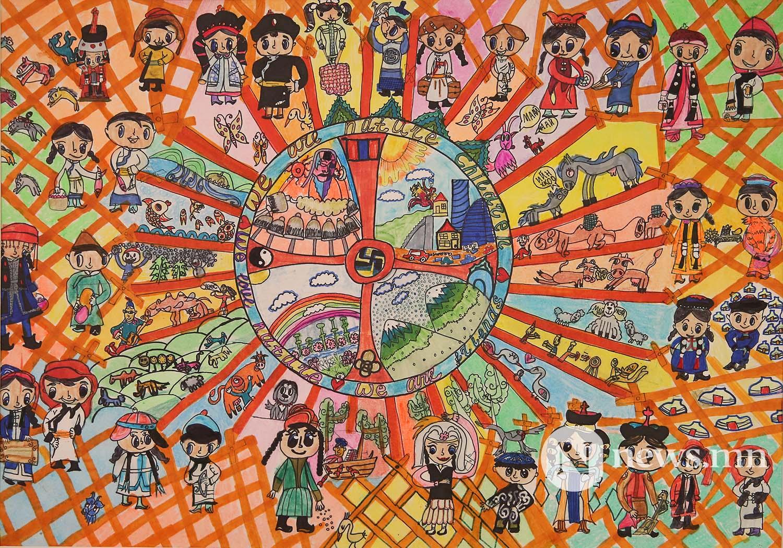 Монгол АРТ галерей Хүүхдийн зургийн уралдаан (53)