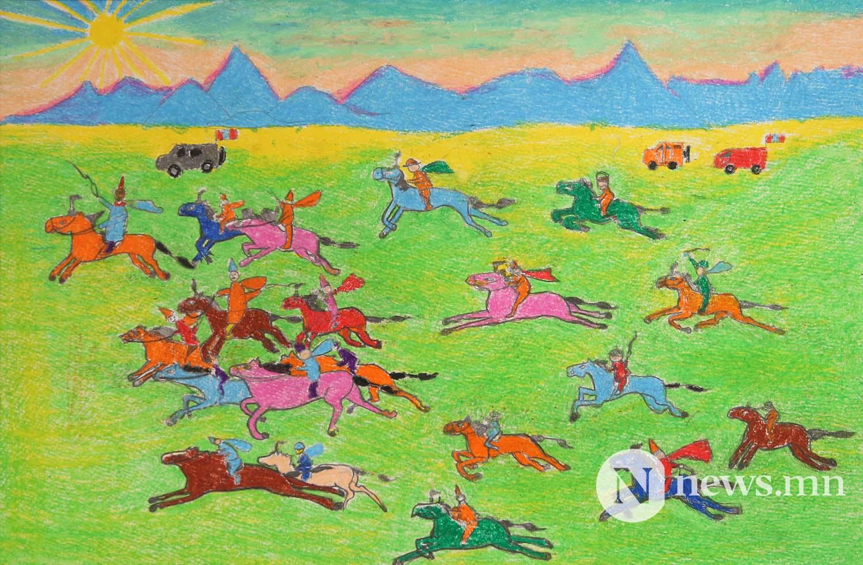 Монгол АРТ галерей Хүүхдийн зургийн уралдаан (55)