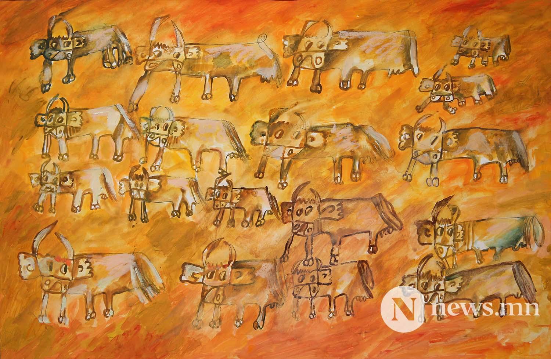 Монгол АРТ галерей Хүүхдийн зургийн уралдаан (56)