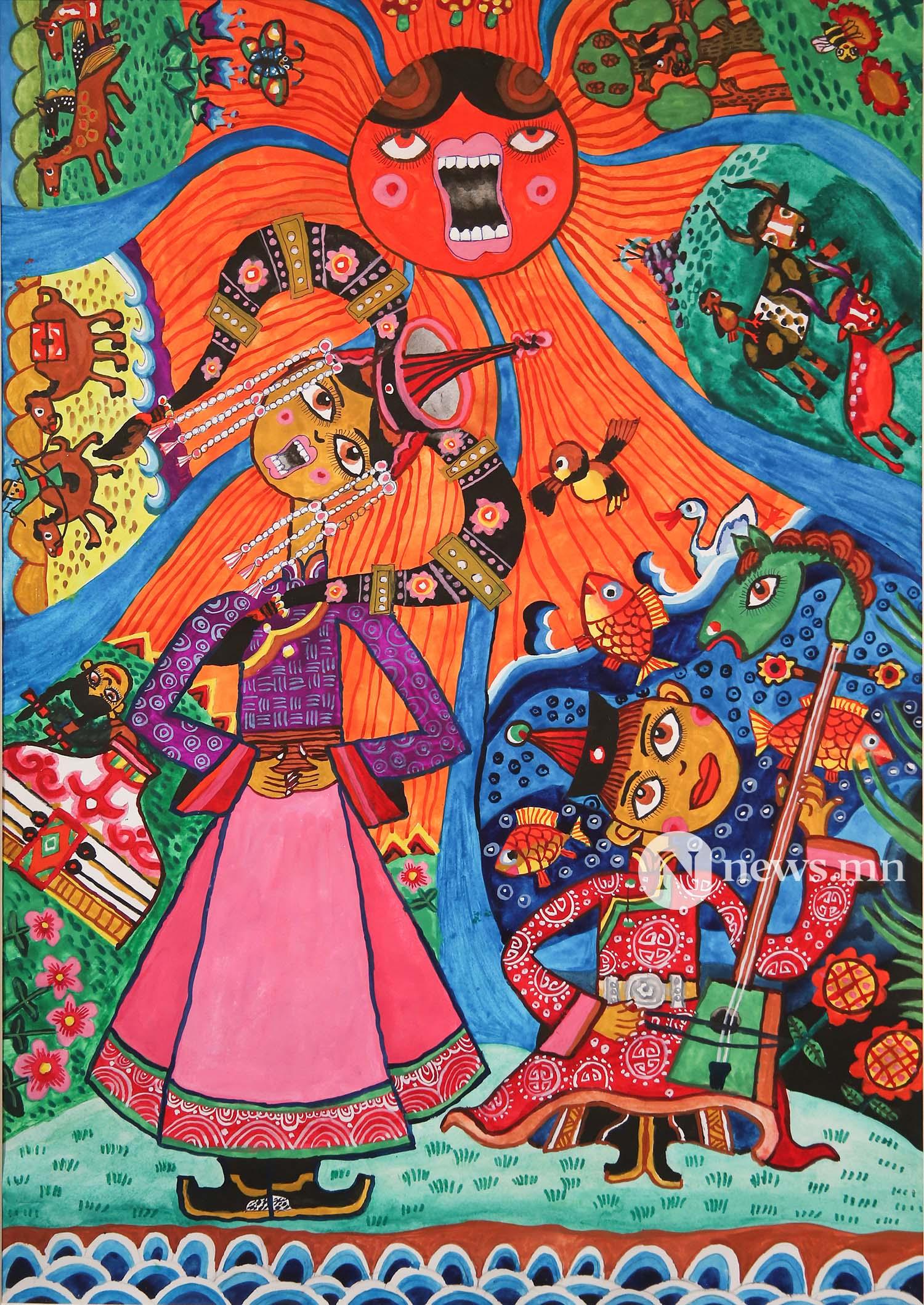 Монгол АРТ галерей Хүүхдийн зургийн уралдаан (57)