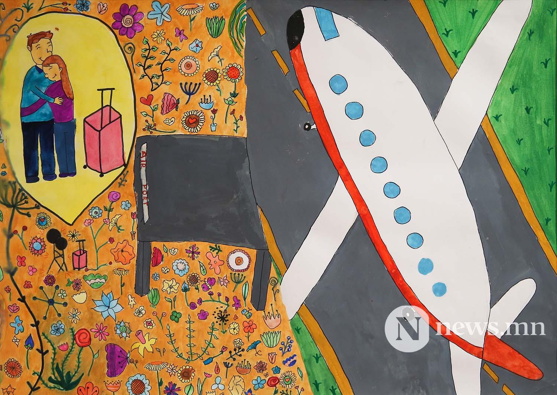 Монгол АРТ галерей Хүүхдийн зургийн уралдаан (58)