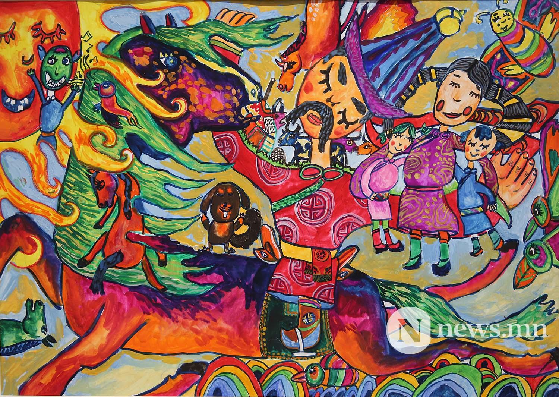 Монгол АРТ галерей Хүүхдийн зургийн уралдаан (59)