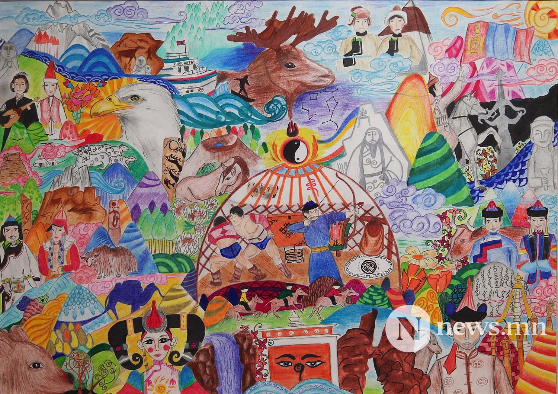 Монгол АРТ галерей Хүүхдийн зургийн уралдаан (60)