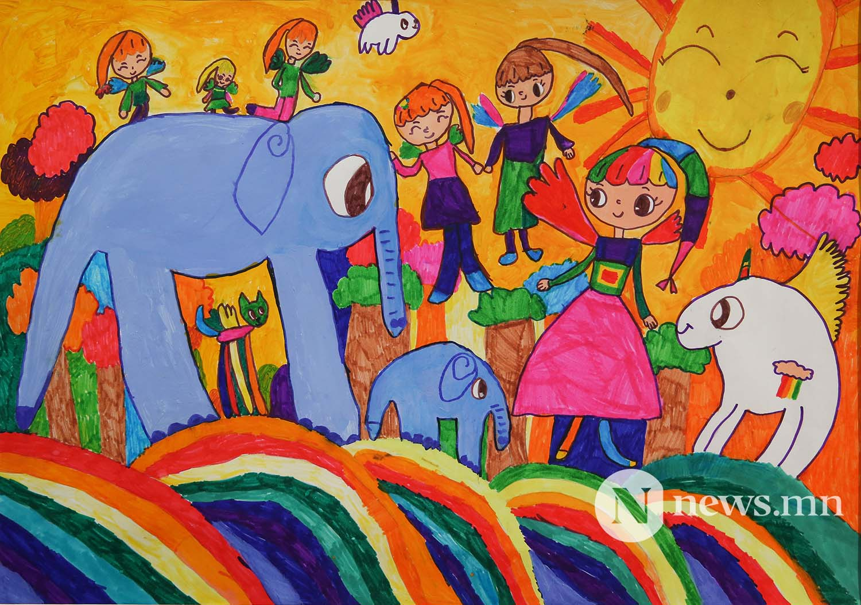 Монгол АРТ галерей Хүүхдийн зургийн уралдаан (61)
