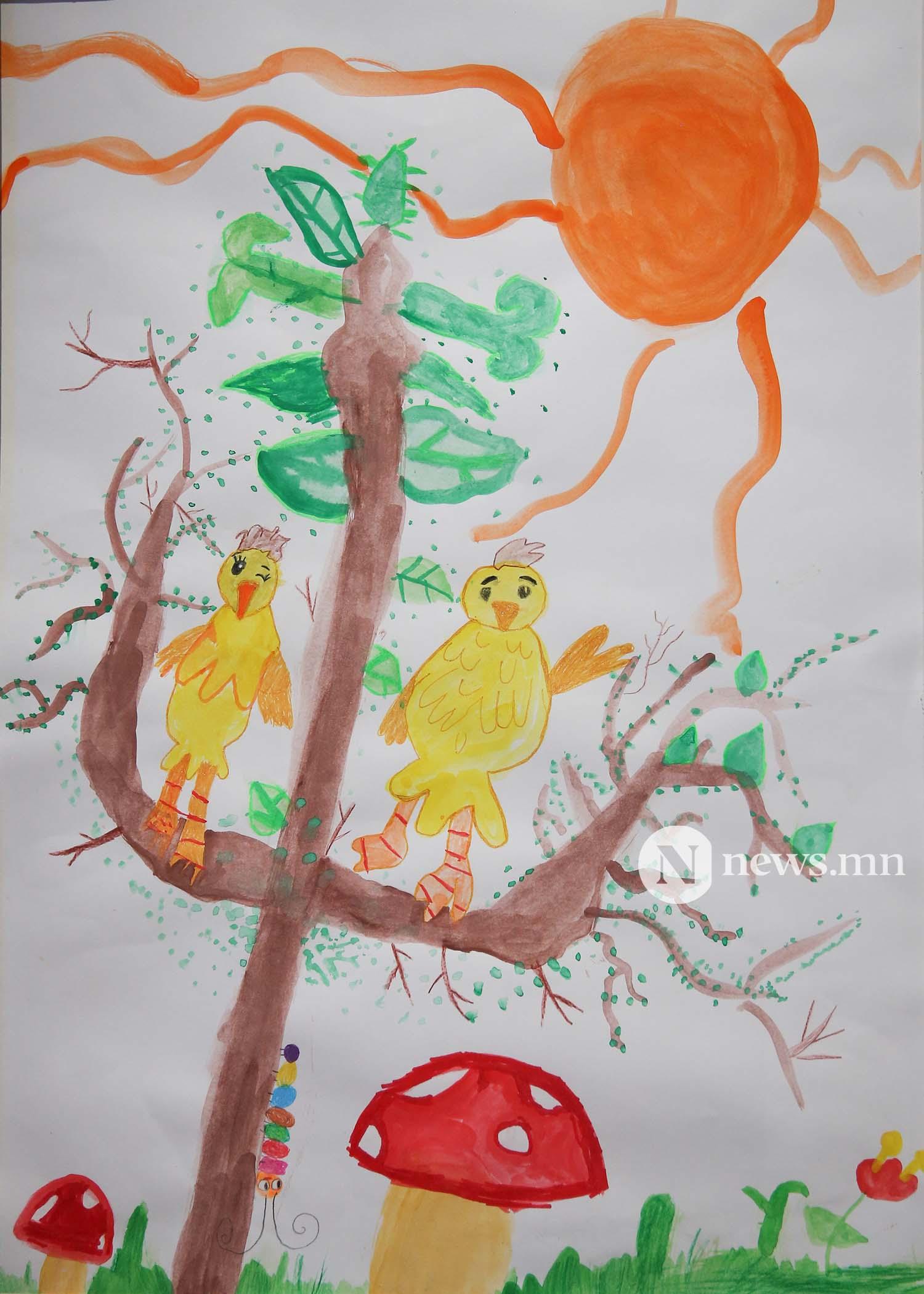 Монгол АРТ галерей Хүүхдийн зургийн уралдаан (63)