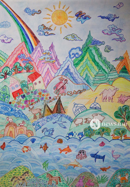 Монгол АРТ галерей Хүүхдийн зургийн уралдаан (64)