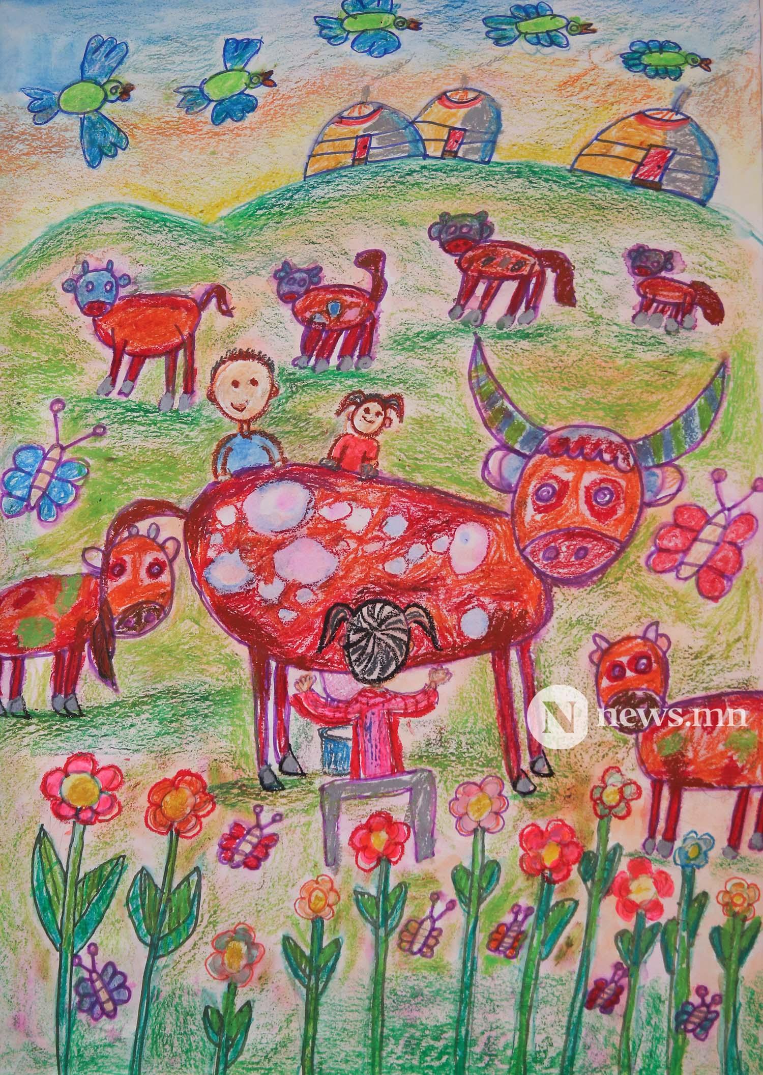 Монгол АРТ галерей Хүүхдийн зургийн уралдаан (66)