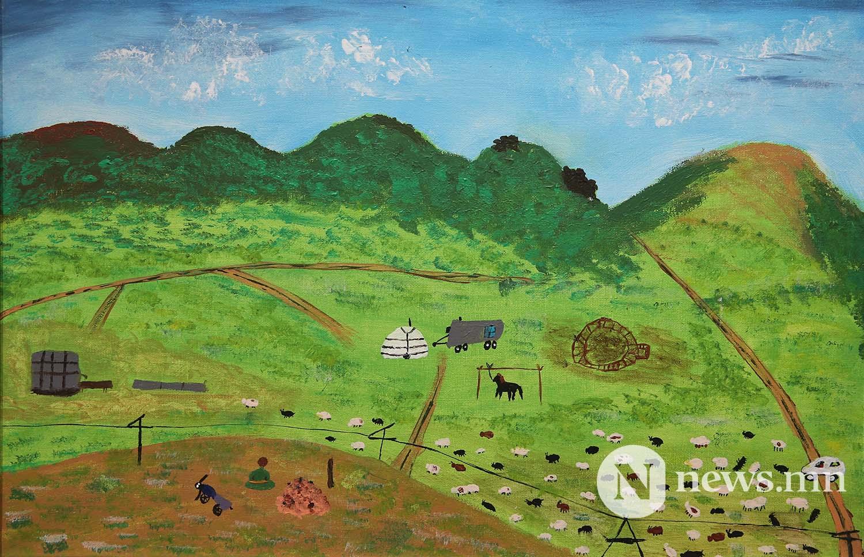 Монгол АРТ галерей Хүүхдийн зургийн уралдаан (69)