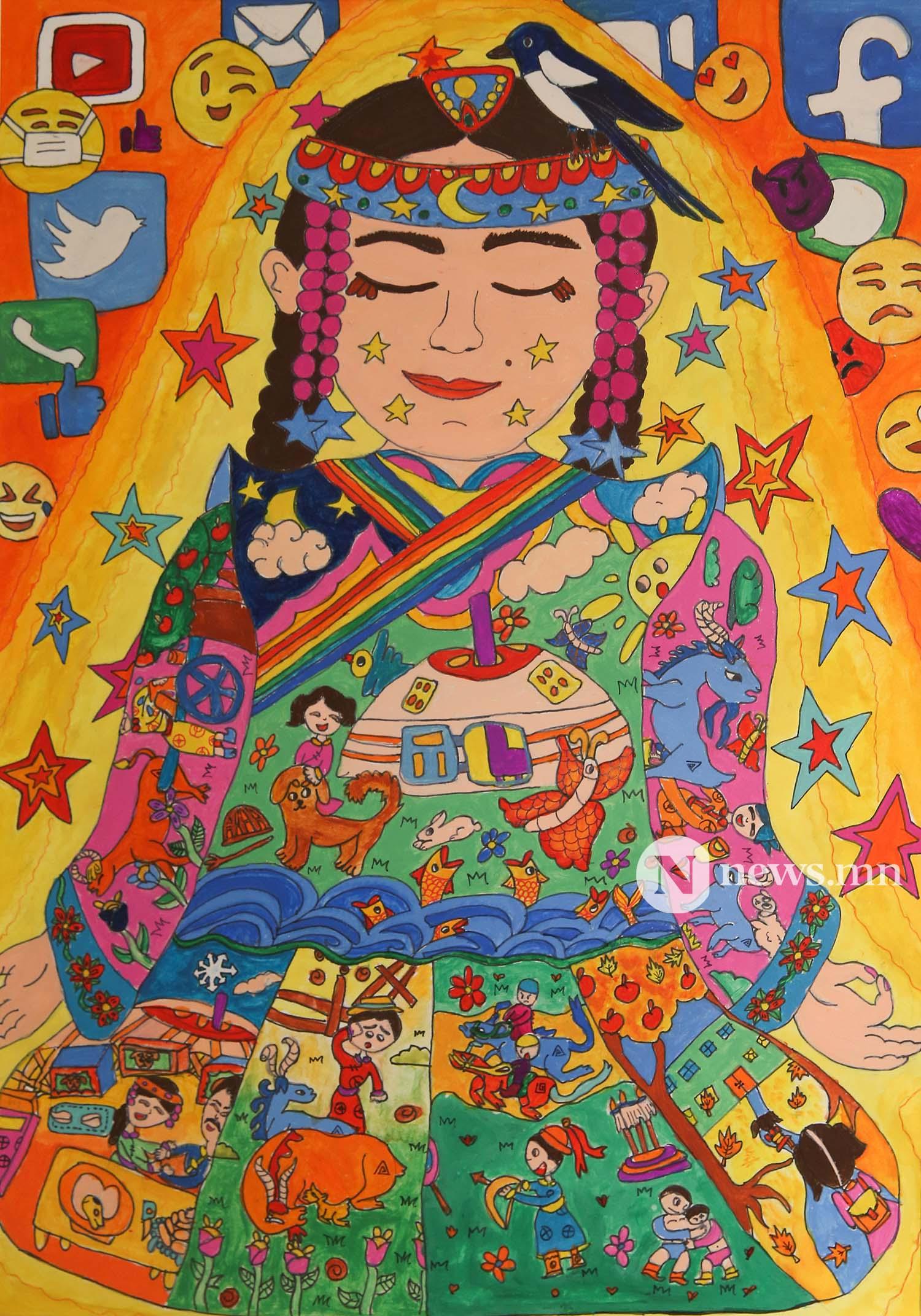 Монгол АРТ галерей Хүүхдийн зургийн уралдаан (76)