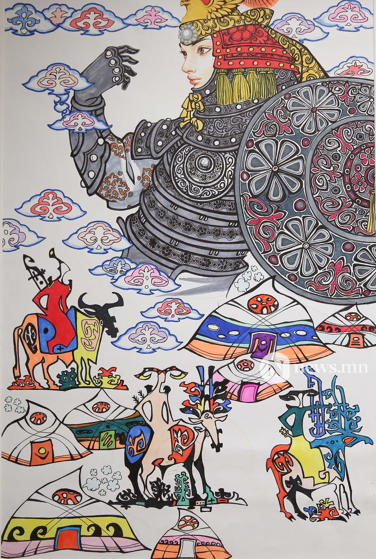 Монгол АРТ галерей Хүүхдийн зургийн уралдаан (77)