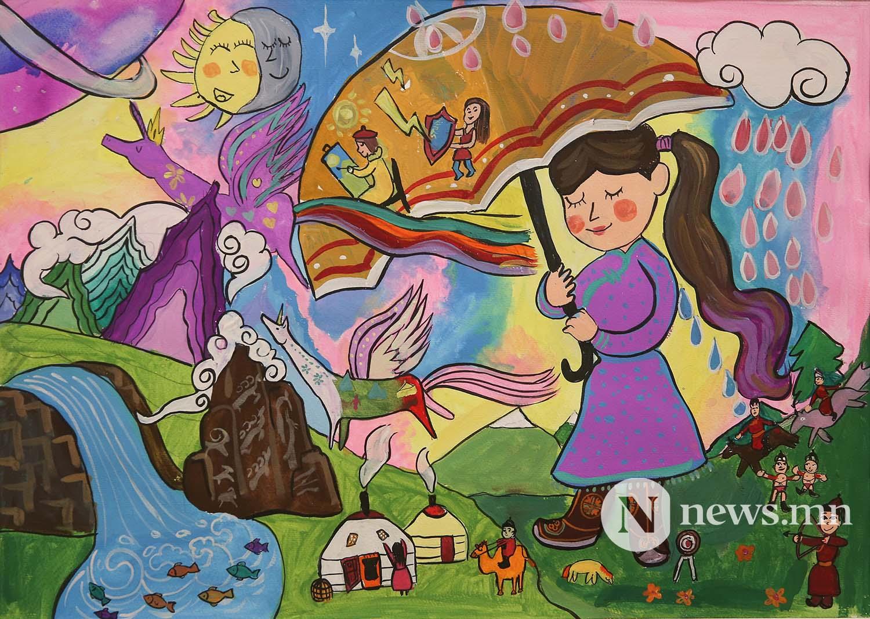 Монгол АРТ галерей Хүүхдийн зургийн уралдаан (8)