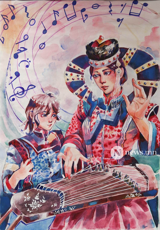 Монгол АРТ галерей Хүүхдийн зургийн уралдаан (80)