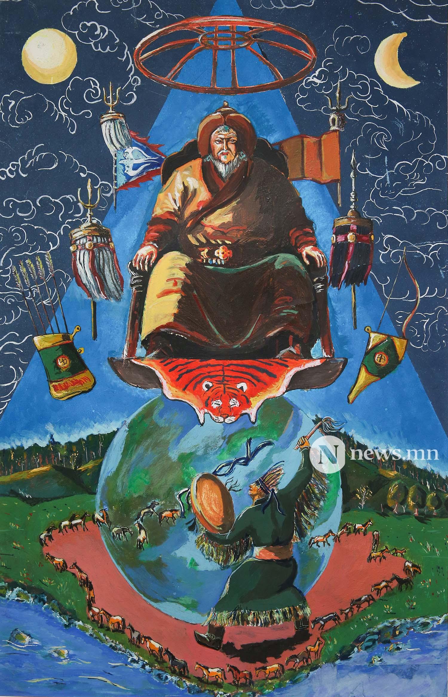 Монгол АРТ галерей Хүүхдийн зургийн уралдаан (81)