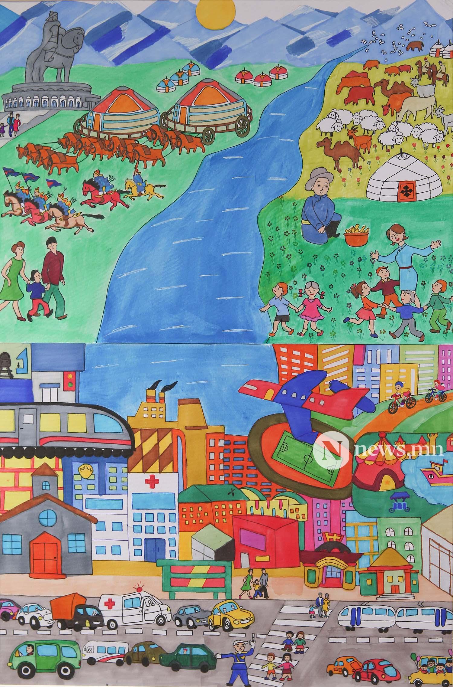 Монгол АРТ галерей Хүүхдийн зургийн уралдаан (82)