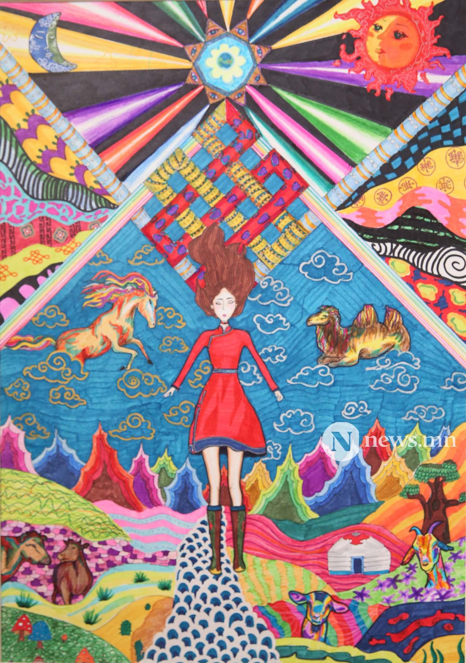 Монгол АРТ галерей Хүүхдийн зургийн уралдаан (83)