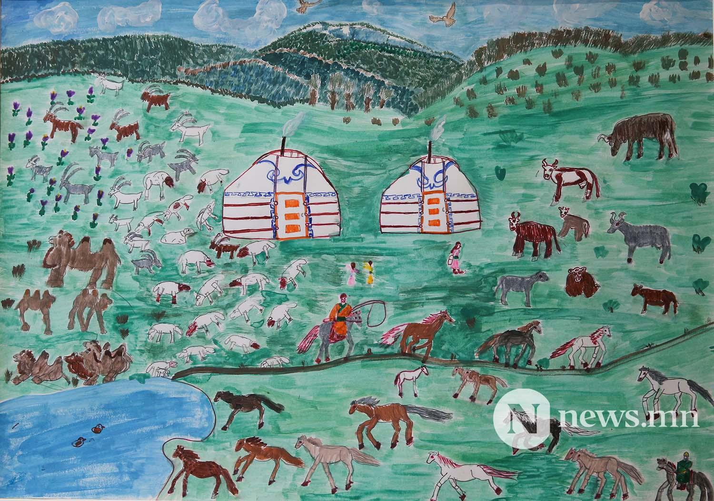 Монгол АРТ галерей Хүүхдийн зургийн уралдаан (88)