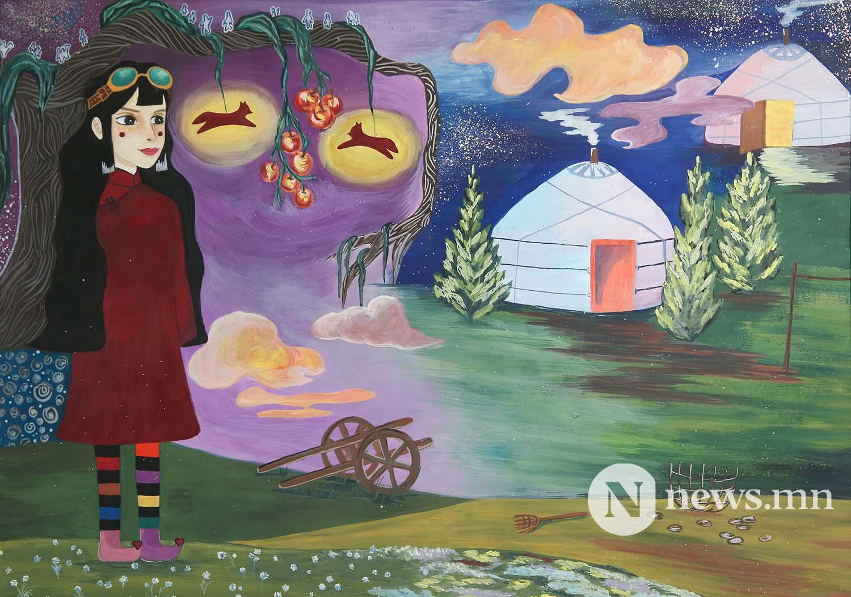 Монгол АРТ галерей Хүүхдийн зургийн уралдаан (90)