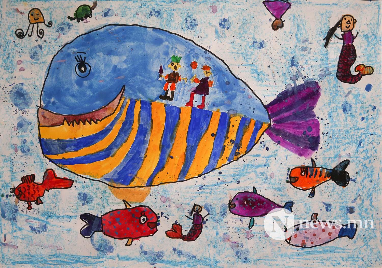 Монгол АРТ галерей Хүүхдийн зургийн уралдаан (92)