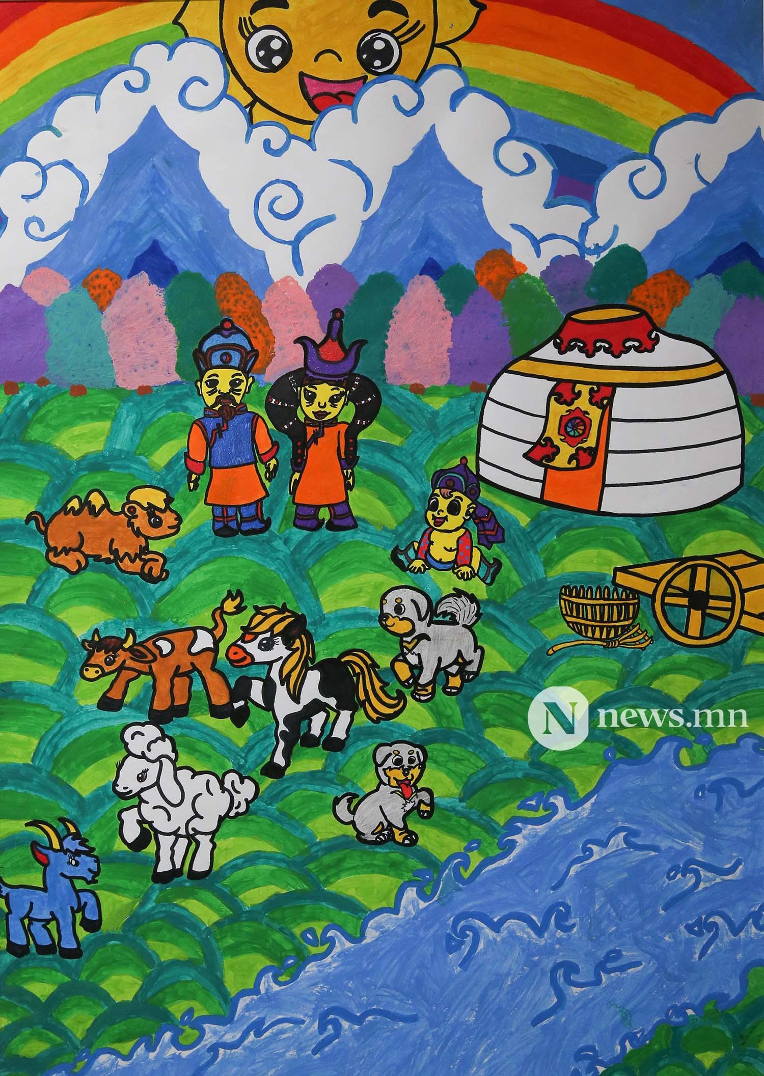 Монгол АРТ галерей Хүүхдийн зургийн уралдаан (93)